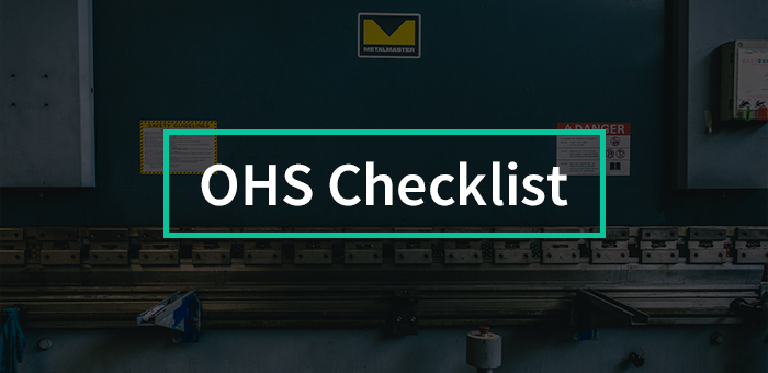 Latham OHS Checklist
